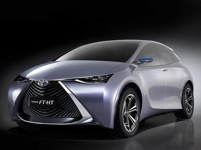 Shanghai 2013 : Toyota FT-HT Concept et Yaris de Chine