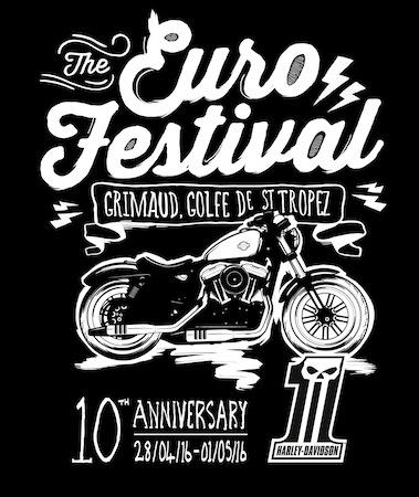 Harley-Davidson Euro Festival de Grimaud 2016 : les 10 ans avec Shaka Ponk