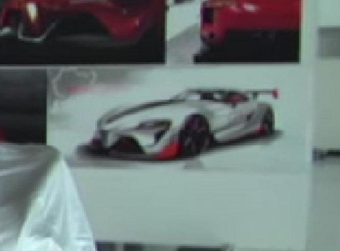Rapid'news - Bientôt un second concept Toyota FT-1...
