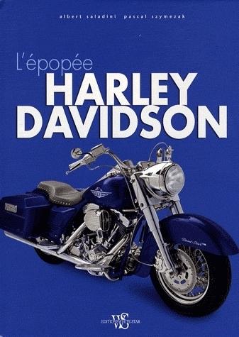 Idée cadeau : Livre - L'épopée Harley-Davidson
