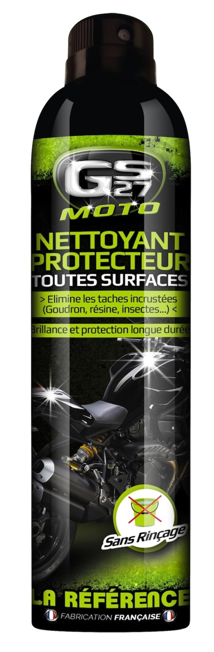 GS27: nettoyer et protéger toutes les surfaces de votre moto
