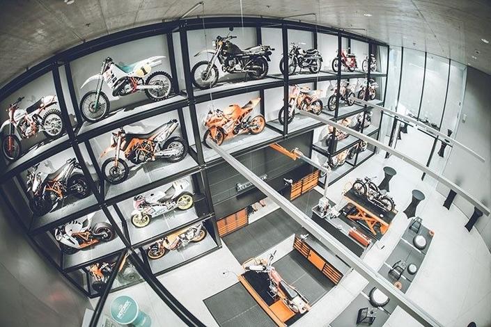 KTM: un centre dédié s'est ouvert à Mattighofen