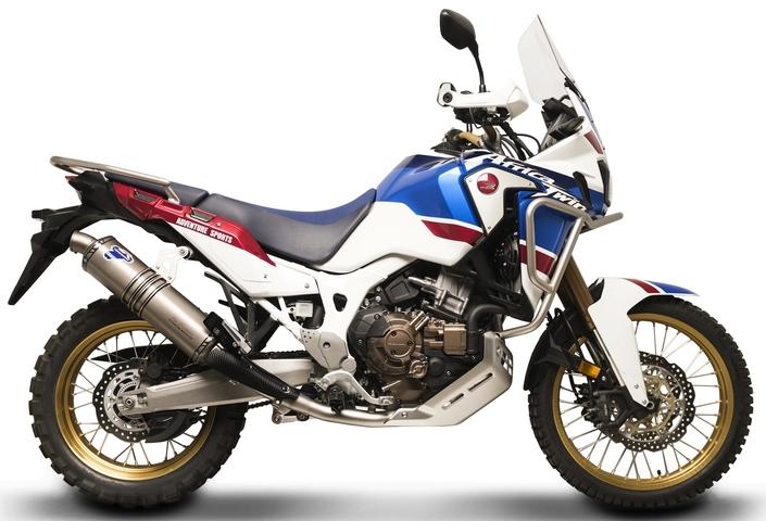 Termignoni: édition limitée à 100 exemplaires en Inconel pour la Honda Africa Twin