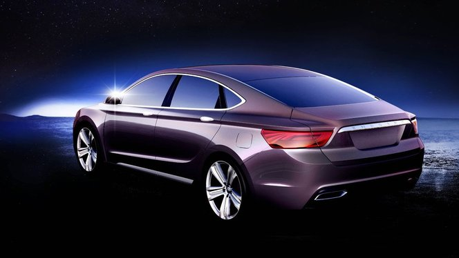 Shanghai 2013 : Geely Emgrand KC concept