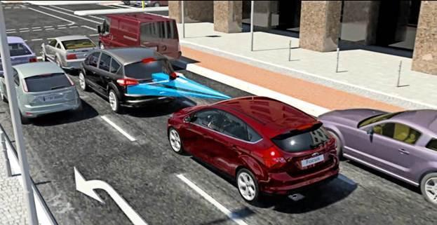 Ford teste une évolution de son système de freinage automatique à Paris