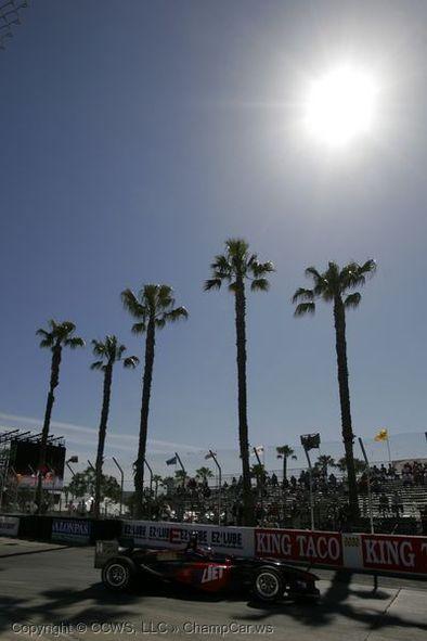 Champcar Long Beach: Bourdais en pole, Tracy blessé