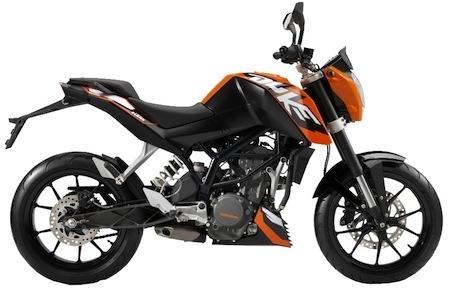 Idée cadeau KTM: de l'orange sous le sapin, suite