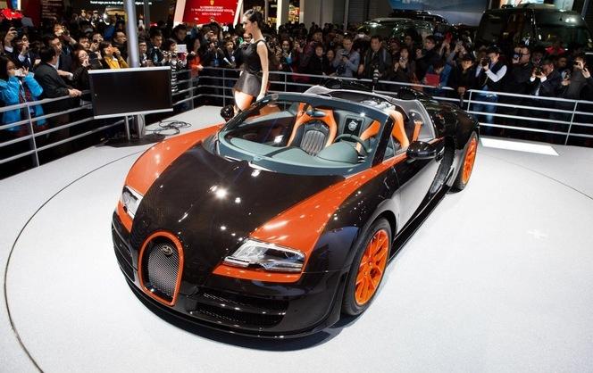 Shanghai 2013 : Bugatti présente la Vitesse Grand Sport WRC