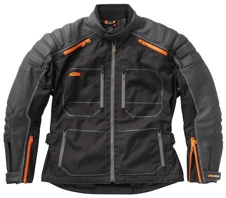 KTM retravaille sa veste HQ Adventure pour 2012