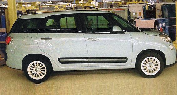 """La future Fiat 500X """"longue"""" surprise"""