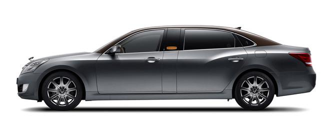 Hyundai Equus par Hermes, pour l'image