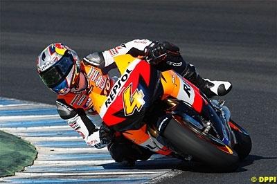 Moto GP - Honda: Dovizioso apprend à marcher avant de courir