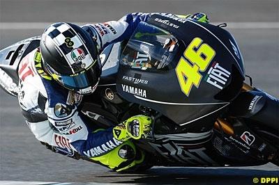 Moto GP - Yamaha: Rossi ne lâche jamais la pression