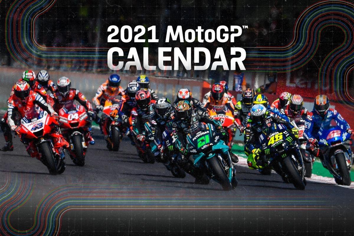 Calendrier Course Voile 2021 La MotoGP dévoile son calendrier 2021 !
