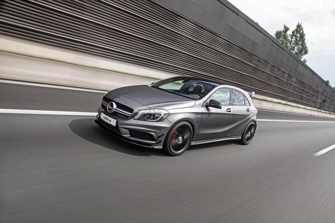 Väth met 425 ch dans une Mercedes A45 AMG