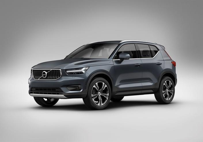 Volvo équipe son SUV compact XC40 d'un nouveau moteur 3 cylindres