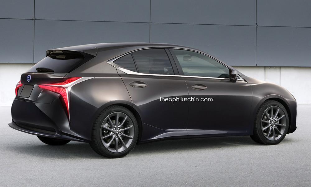 Future Lexus CT : comme ça