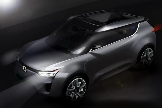 Genève 2012 : concept Ssangyong XIV-2, un XIV-1 cabriolet