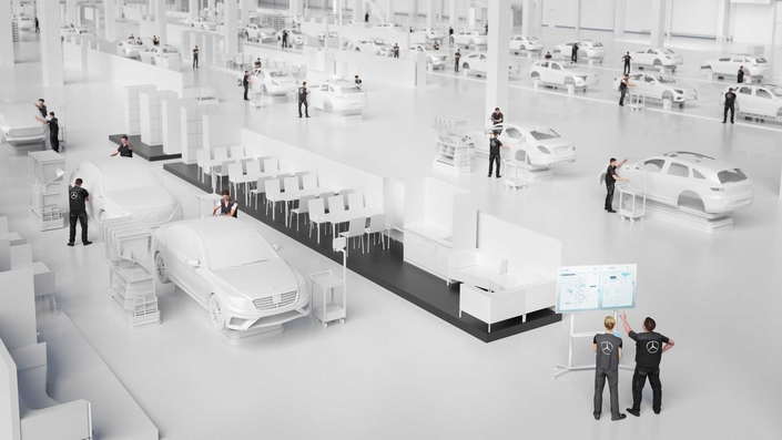 Ambition2039 : le grand projet Mercedesde réductiondes émissionsde CO2