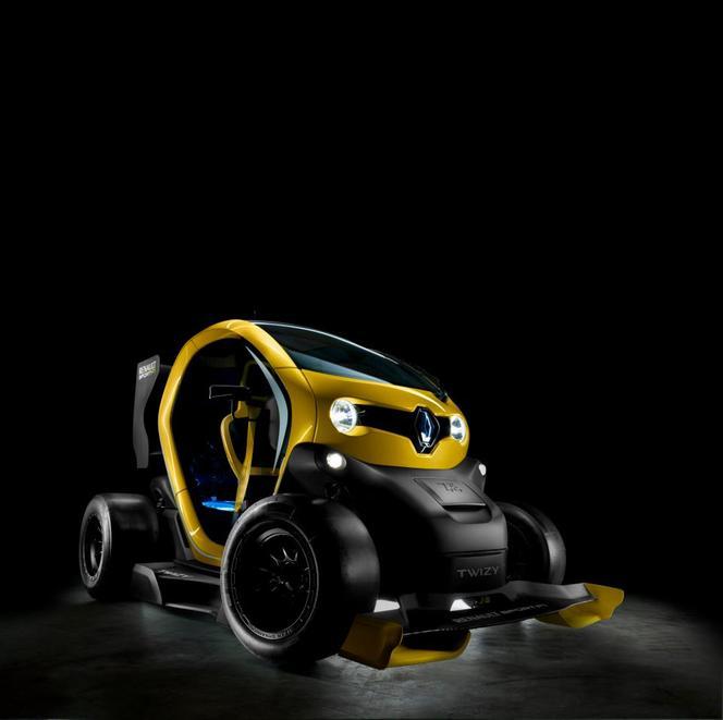 Twizy Renault Sport F1 Concept, l'électro-choc