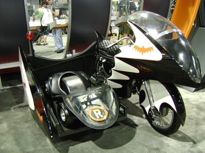 The Dark Night Bat Bike (NEC Bike Show 2008 et autres souvenirs)