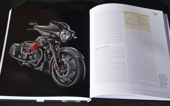 Lu pour vous: Moto Guzzi, tous les modèles depuis 1921 par Ian Falloon
