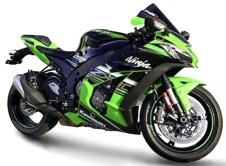 Puig: déjà une bulle pour la Kawasaki ZX10R 2016