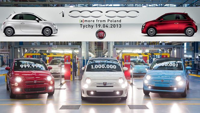 Fiat 500 : déjà le million