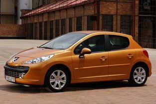 """La Peugeot 207 originale, en version """"face avant sport""""."""