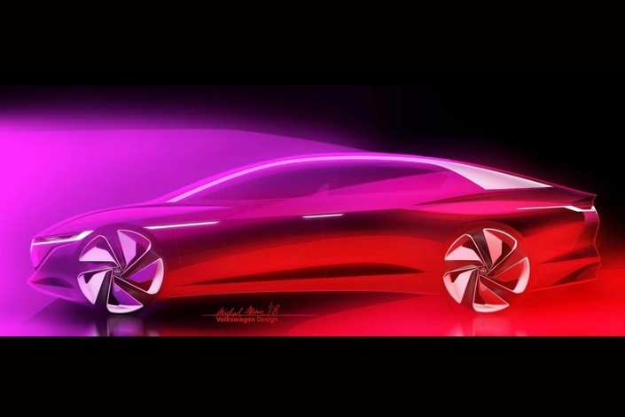 Salon de gen ve 2018 volkswagen annonce le concept vizzion - Concept salon de the ...