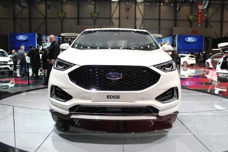 Ford Edge restylé:  lifting traditionnel - En direct de Genève