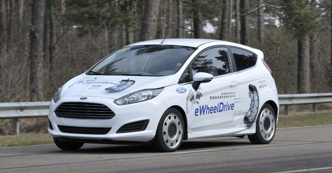 "La Ford Fiesta eWheelDrive entend ""révolutionner l'automobile urbaine"""