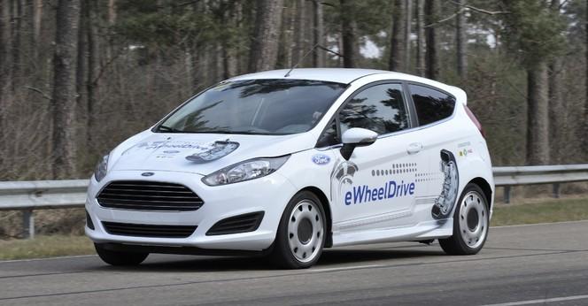 "La Ford Fiesta eWheelDrive entend ""révolutionner l'automobile urbaine"""