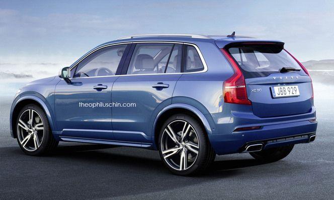 Futur crossover urbain Volvo : comme ça ?