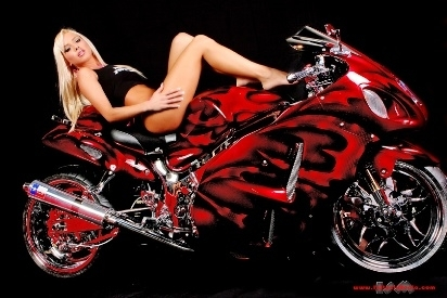 Moto & Sexy : le tuning....c'est beau