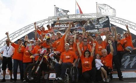 Honneur à KTM avec le titre de Marvin Musquin