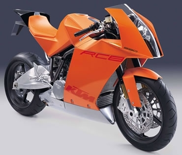 KTM: La RC8 a son site