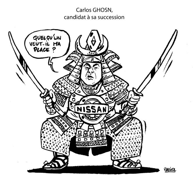Le dessin du jour – Carlos Ghosn reconduit