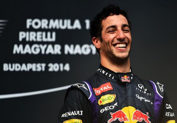 F1 : GP de Hongrie - Ricciardo remporte la plus belle course de l'année