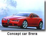 Alfa Romeo Brera :   avant-première mondiale