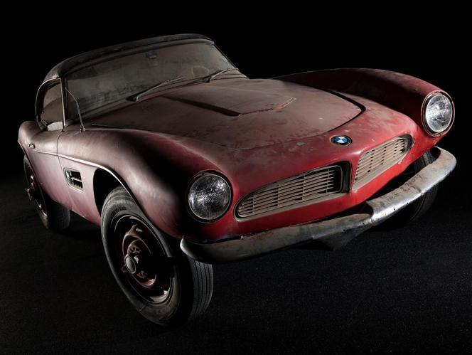 La BMW 507 d'Elvis Presley sera bientôt restaurée