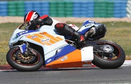 Bol d'Or 2010 : Le Ducati Endurance Racing team sur une 848