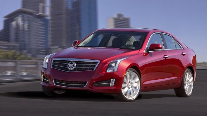 Genève 2012 : la Cadillac ATS en première européenne