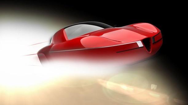 Genève 2012 : le concept Disco Volante de la Carrozzeria Touring Superleggera