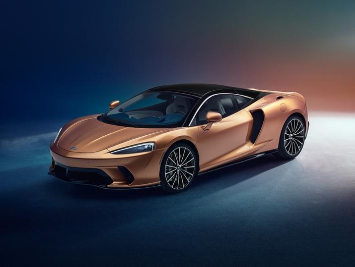 McLaren dévoile la GT
