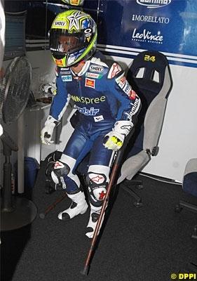 Moto GP - Honda: Toni Elias est aussi passé par Barcelone