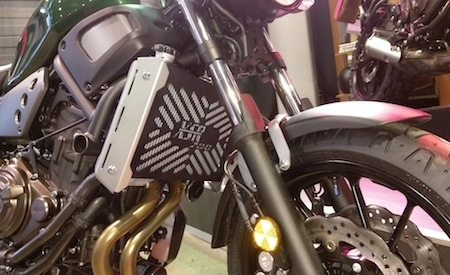 Access Design s'occupe de la Yamaha XSR 700