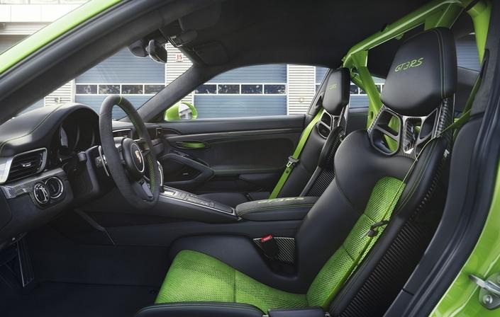 Porsche 911 GT3 RS restylée : incroyable Hulk - vidéo en direct du Salon de Genève 2018