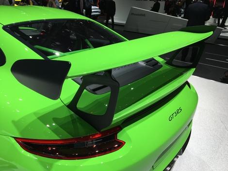 Une aileron digne d'une voiture de course.