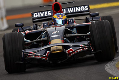 Formule 1 - Europe: Bourdais n'a pas gâché la fête Toro Rosso